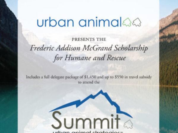 Frederic Addison McGrand Scholarship.