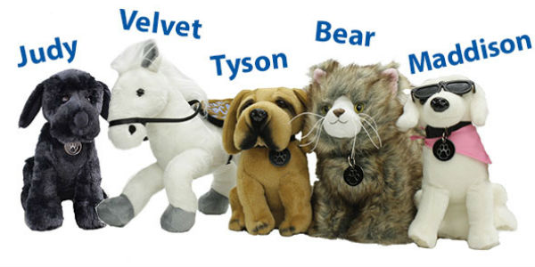 Plush Animals, gifts that give back