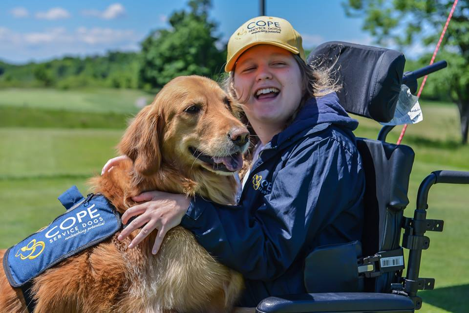COPE service dogs