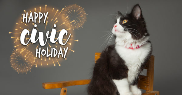 civic holiday, ontario spca, ospca, civic holiday, pets, pet safety