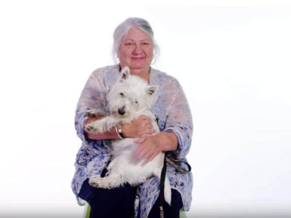 Calendar star, animal rescue story