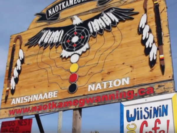 Naotkamegwanning First Nation (Whitefish Bay), support the north