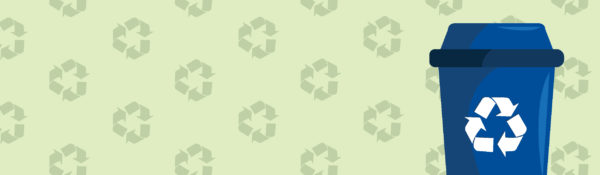 recycling web page banner
