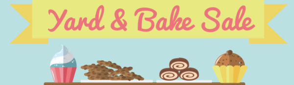 Yard and Bake Sale – page banner