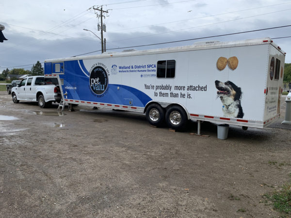 SPCA Mobile Animal Wellness Unit