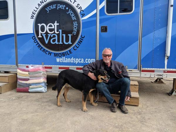 John Greer, Executive Director of Niagara SPCA and Humane Society.
