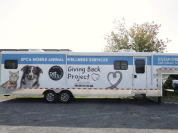virtual tour, pet valu mobile animal wellness services unit