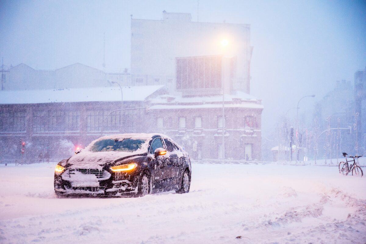 winter car hazards