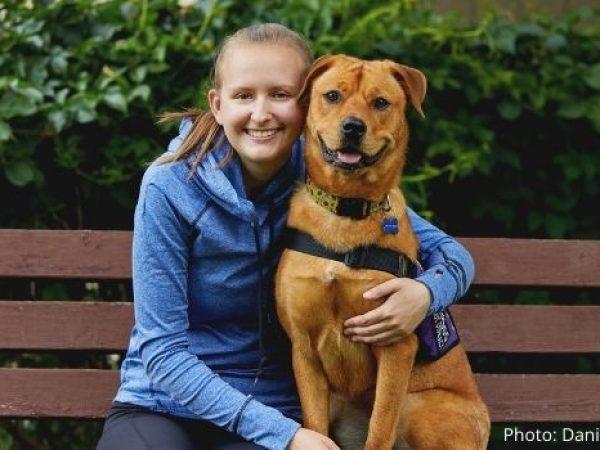 service dog, sheeba and Brianna, happy tails, ontario spca