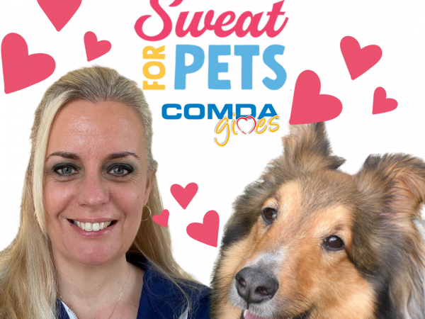 sweat for pets, fundraiser, fundraisers, comda